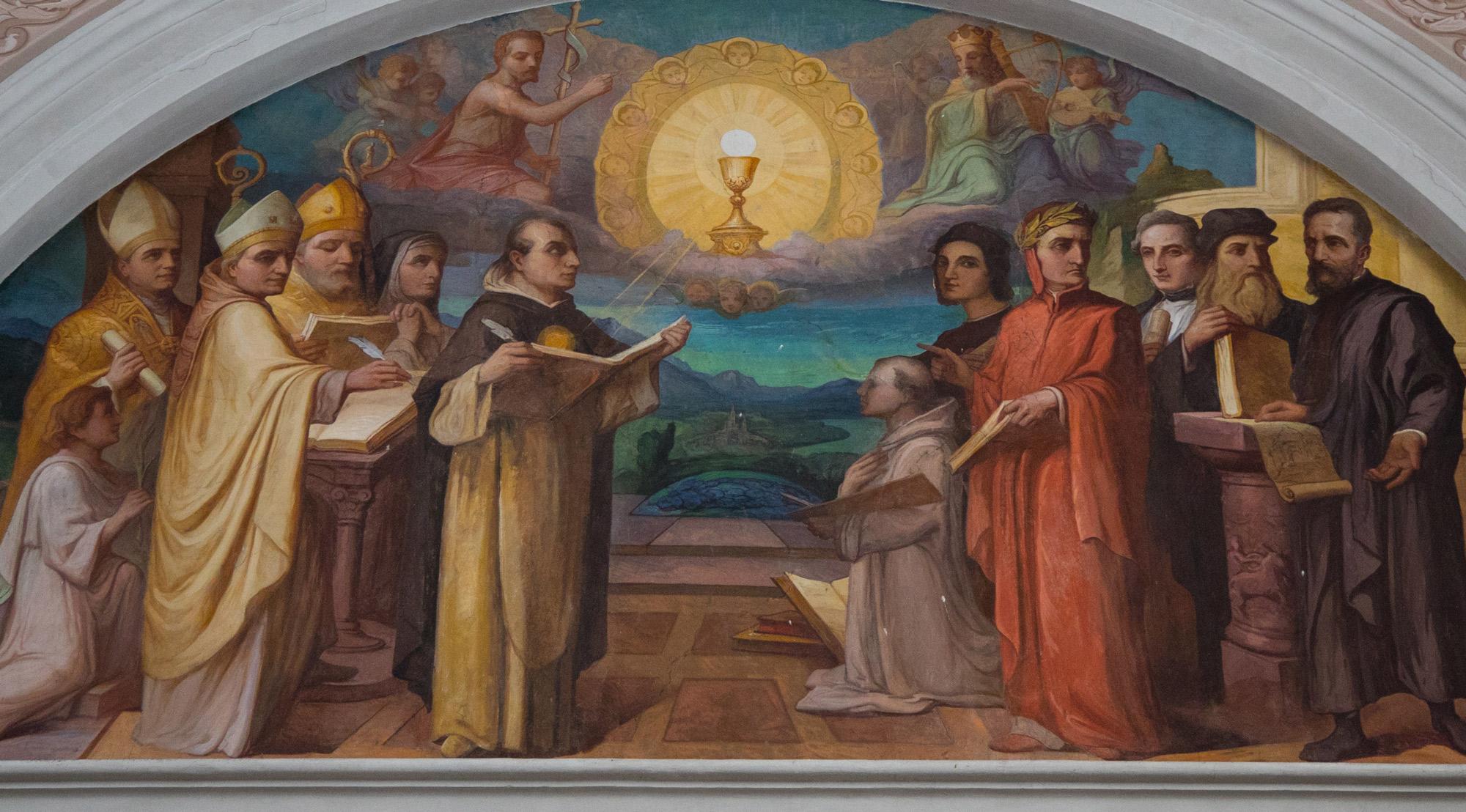 20 Agosto, Chiesa della B.V. del Rosario – Ampezzo